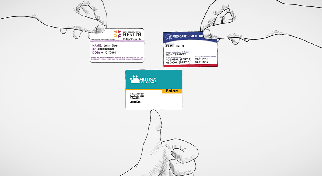 Medicare, Medicaid, and Molina Health Cards